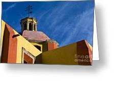 Templo De San Roque, Mexico Greeting Card
