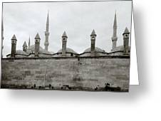Ten Minarets Greeting Card
