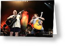 Tenacious D - Kyle Gas And Jack Black Greeting Card