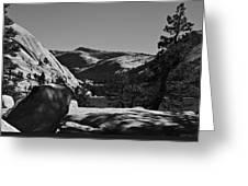 Tenaya Lake In Yosemite Greeting Card