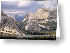 Tenaya Lake Yosemite Greeting Card