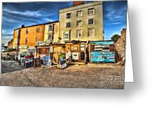 Tenby Boat Trips Greeting Card