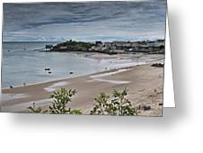 Tenby Panorama 3 Greeting Card