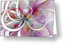 Tendrils 01 Greeting Card