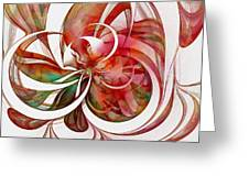 Tendrils 05 Greeting Card by Amanda Moore