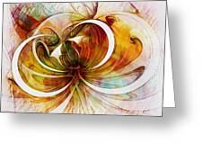 Tendrils 14 Greeting Card by Amanda Moore