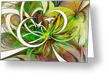 Tendrils 15 Greeting Card by Amanda Moore
