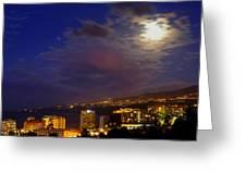 Tenerife's North West Coast  Greeting Card