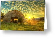 Tennesee Sunrise Greeting Card