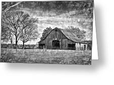 Tennessee Barn Greeting Card