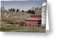 Tennessee Farmstead Greeting Card by Heather Applegate