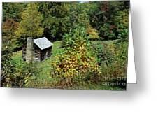 Tennessee Mountain Cabin Greeting Card