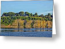 Tennessee River Cliffs Greeting Card