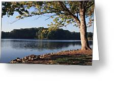 Tennessee River In Knoxville Greeting Card