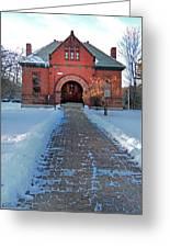 Tenney Memorial Library Newbury Vermont Greeting Card