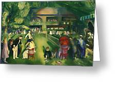 Tennis At Newport 1920 Greeting Card