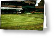 Tennis Hall Of Fame 2.0 Greeting Card