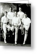 Tennis Team 1921 Greeting Card