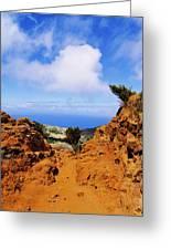 Teno Mountains Greeting Card
