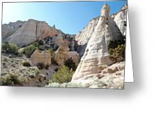 Tent Rocks 8 Greeting Card