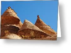 Tent Rocks Geology Greeting Card