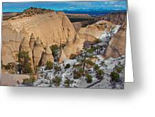 Tent Rocks National Monument Greeting Card