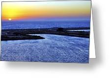 Tequila Sunrise Greeting Card by Jason Politte