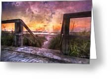 Tequilla Sunrise Greeting Card