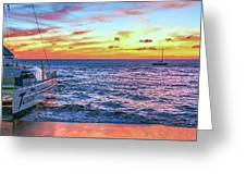 Teralani Sunset Greeting Card
