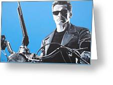 Terminator I'll Be Back Greeting Card