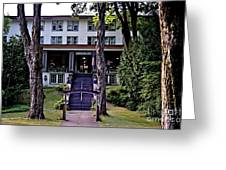 Terrace Inn Greeting Card