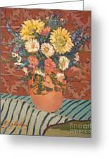 Terracota Vase Greeting Card