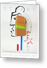 Terracotta Army Poster Greeting Card
