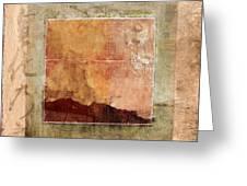Terracotta Earth Tones Greeting Card