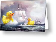 Terror On The High Seas II Greeting Card