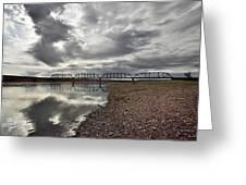 Terry Bridge Greeting Card
