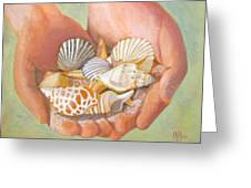 Tesori Del Mare - Treasures Of The Sea Greeting Card