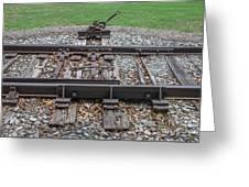 Switch Tracks Greeting Card
