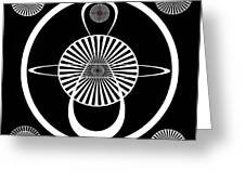 Test Pattern Greeting Card