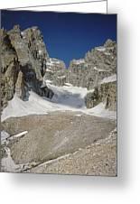 1m9385-teton Glacier Greeting Card