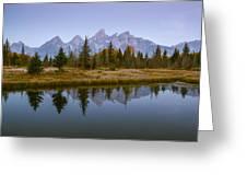 Teton Morning Greeting Card