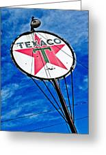Texaco Gasoline Greeting Card by Merrick Imagery