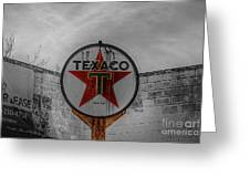 Texaco Greeting Card
