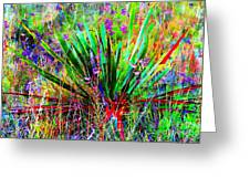 Texas Agave Pee Wee Plant Greeting Card