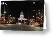 Texas Capital Building Greeting Card