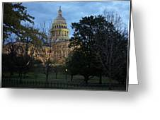 Texas Capitol Greeting Card
