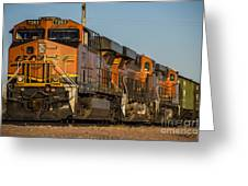 Texas Freight  Greeting Card
