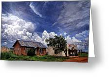 Texas Ghost Town Greeting Card