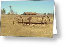 Texas Hill Country Farmscape Greeting Card