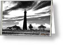 Texas Lighthouse Greeting Card